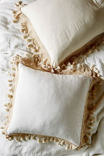 Pillow Shams Textured Colorful Anthropologie