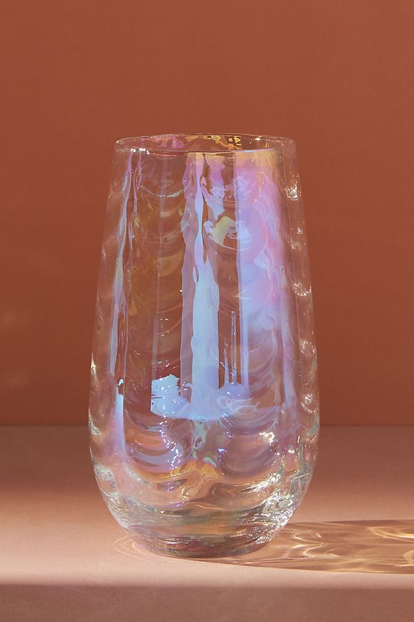 Slide View: 1: Iridescent Highball Glasses, Set of 4