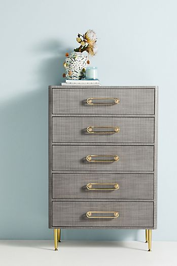 Odetta Five-Drawer Dresser