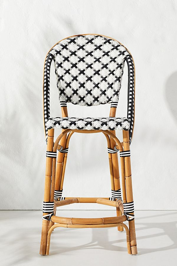 Amazing Woven Counter Stool Onthecornerstone Fun Painted Chair Ideas Images Onthecornerstoneorg