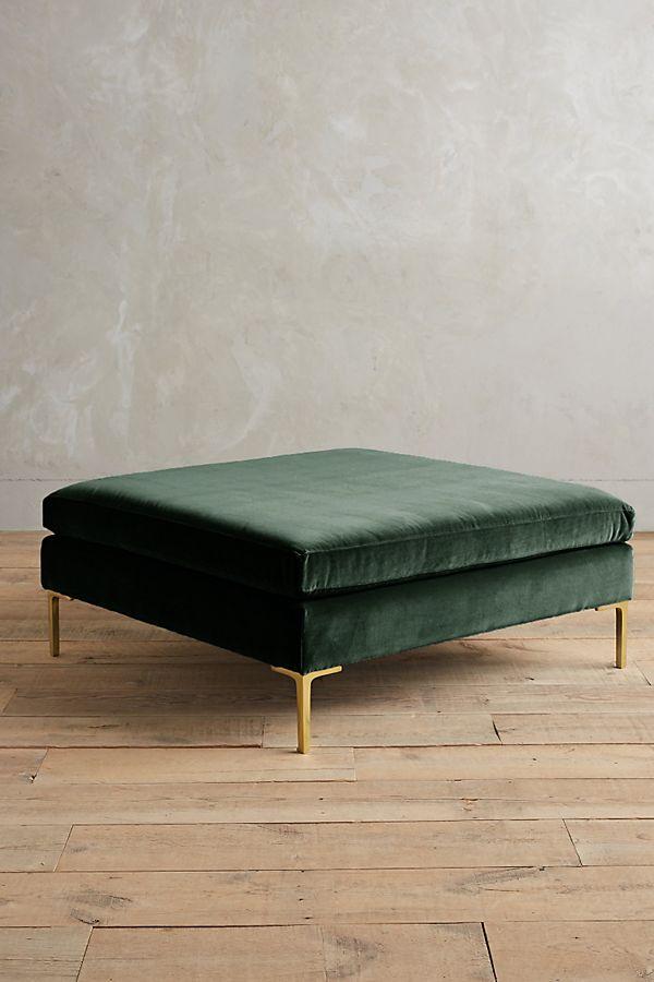 Pleasing Velvet Edlyn Grand Ottoman Theyellowbook Wood Chair Design Ideas Theyellowbookinfo