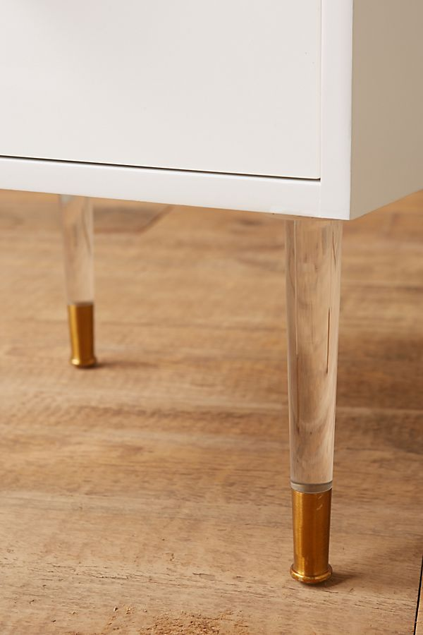 Lacquered Regency Nightstand | Anthropologie