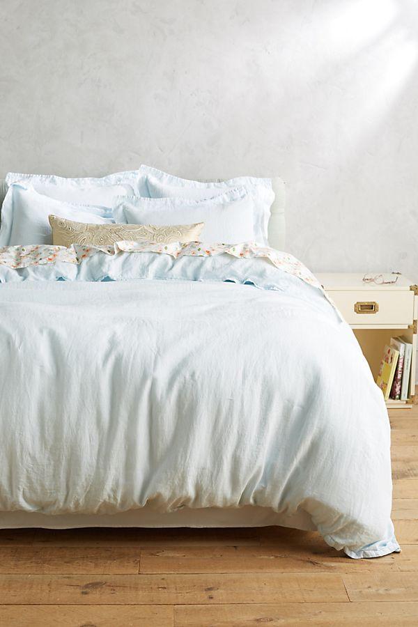 Soft Washed Linen Duvet Cover