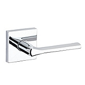 Lisbon Passage/Hall/Closet Door Levers, Polished Chrome 154LSL SQT 26 | Kwikset Door Hardware