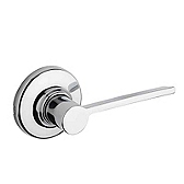 Ladera Door Levers, Polished Chrome 200LRL 26 | Kwikset Door Hardware