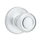Mobile Home Knob , Satin Chrome 200M 26D | Kwikset Door Hardware