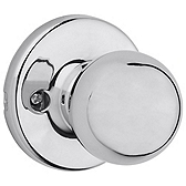 Polo Inactive/Dummy Door Knobs, Polished Chrome 488P 26 | Kwikset Door Hardware