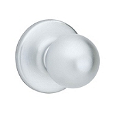 Polo Passage/Hall/Closet Door Knobs, Satin Chrome 200P 26D | Kwikset Door Hardware