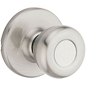 Tylo Passage/Hall/Closet Door Knobs, Satin Nickel 200T 15 | Kwikset Door Hardware