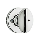 Aliso Privacy/Bed/Bath Door Knobs, Polished Chrome 300AO 26 | Kwikset Door Hardware