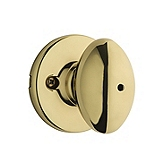 Aliso Privacy/Bed/Bath Door Knobs, Polished Brass 300AO 3 | Kwikset Door Hardware