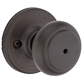 Cove Privacy/Bed/Bath Door Knobs, Venetian Bronze 300CV 11P | Kwikset Door Hardware