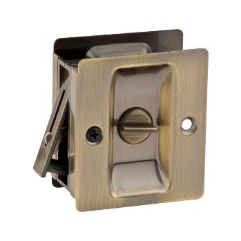 Perfect Notch Bed/Bath Pocket Door Lock