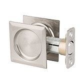Round Pocket Door Lock