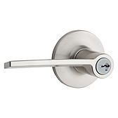Palmina Light Commercial, Satin Nickel 438PLL LH 15 SMT | Kwikset Door Hardware