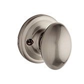Aliso Inactive/Dummy Door Knobs, Satin Nickel 488AO 15 | Kwikset Door Hardware