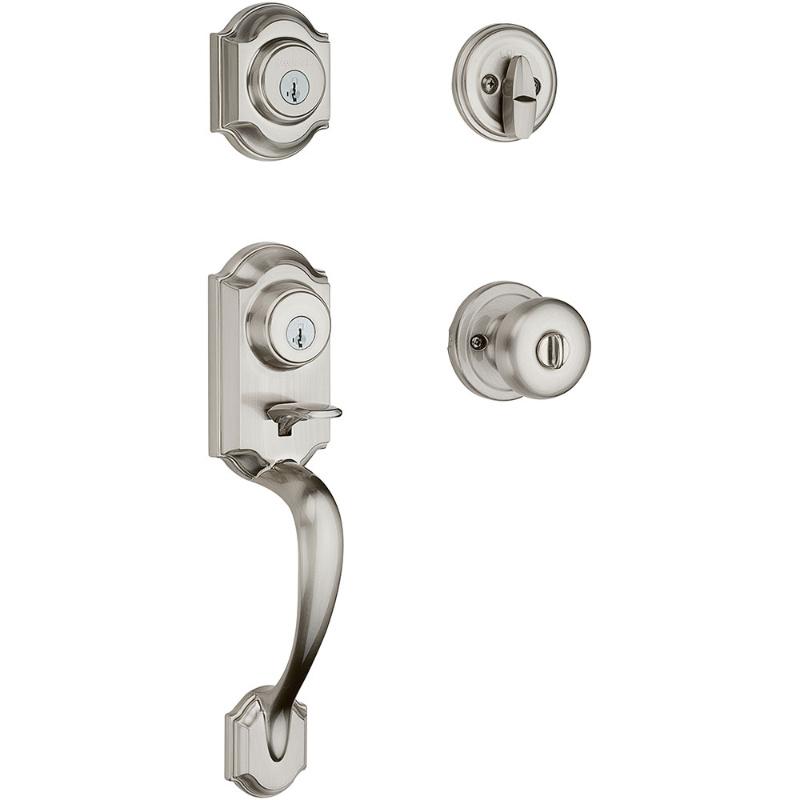 handle to medium remove knob lock doors interior size set instructions kwikset door video installation exquisite exterior cylinder how front a of install