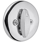 663/667 Single Sided Deadbolt , Polished Chrome 663 26 | Kwikset Door Hardware