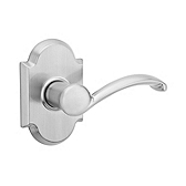 Austin Passage/Hall/Closet Door Levers, Satin Nickel 720AUL 15 | Kwikset Door Hardware