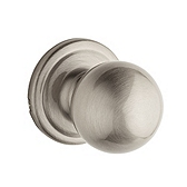 Circa Passage/Hall/Closet Door Knobs, Satin Nickel 720CA 15 | Kwikset Door Hardware