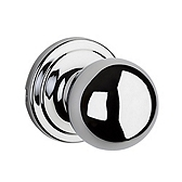 Circa Passage/Hall/Closet Door Knobs, Polished Chrome 720CA 26 | Kwikset Door Hardware