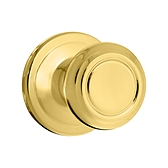 Cameron Passage/Hall/Closet Door Knobs, Polished Brass 720CN 3 | Kwikset Door Hardware