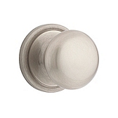 Hancock Passage/Hall/Closet Door Knobs, Satin Nickel 720H 15 | Kwikset Door Hardware