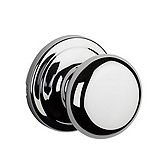 Hancock Passage/Hall/Closet Door Knobs, Polished Chrome 720H 26 | Kwikset Door Hardware