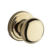 Hancock Passage/Hall/Closet Door Knobs, Polished Brass 720H 3 | Kwikset Door Hardware