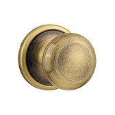 Hancock Door Knobs, Antique Brass 720H 5 | Kwikset Door Hardware