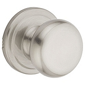 Juno Passage/Hall/Closet Door Knobs, Satin Nickel 720J 15 | Kwikset Door Hardware