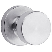Pismo Passage/Hall/Closet Door Knobs, Satin Chrome 720PSK RDT 26D | Kwikset Door Hardware