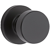 Pismo Passage/Hall/Closet Door Knobs, Iron Black 720PSK RDT 514 | Kwikset Door Hardware