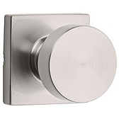 Pismo Passage/Hall/Closet Door Knobs, Satin Nickel 720PSK SQT 15 | Kwikset Door Hardware