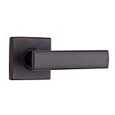 Vedani Passage/Hall/Closet Door Levers, Venetian Bronze 720VDL 11P | Kwikset Door Hardware