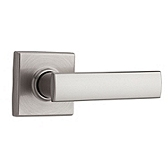 Vedani Passage/Hall/Closet Door Levers, Satin Nickel 720VDL 15 | Kwikset Door Hardware