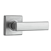 Vedani Door Levers, Satin Chrome 720VDL 26D | Kwikset Door Hardware