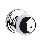Circa Privacy/Bed/Bath Door Knobs, Polished Chrome 730CA 26 | Kwikset Door Hardware