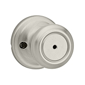 Cameron Privacy/Bed/Bath Door Knobs, Satin Nickel 730CN 15 | Kwikset Door Hardware