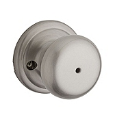 Juno Privacy/Bed/Bath Door Knobs, Satin Nickel 730J 15 | Kwikset Door Hardware