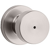 Pismo Privacy/Bed/Bath Door Knobs, Satin Nickel 730PSK RDT 15 | Kwikset Door Hardware