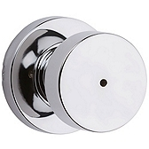 Pismo Privacy/Bed/Bath Door Knobs, Polished Chrome 730PSK RDT 26 | Kwikset Door Hardware