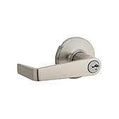 Kingston Keyed Entry Light Commercial, Satin Nickel 756KNL 15 SMT | Kwikset Door Hardware