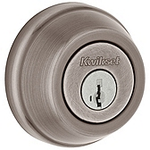 780/785 Deadbolt , Antique Nickel 780 15A SMT | Kwikset Door Hardware
