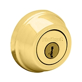 780/785 Deadbolt , Lifetime Polished Brass 780 L03 SMT | Kwikset Door Hardware