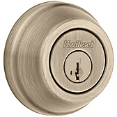 780/785 Deadbolt  , Antique Brass 785 5 SMT | Kwikset Door Hardware