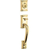 Ashfield Handlesets, Lifetime Polished Brass 800ADH LIP L03 SMT | Kwikset Door Hardware