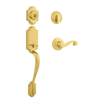 Arlington Single Cylinder Handleset With Lido Lever