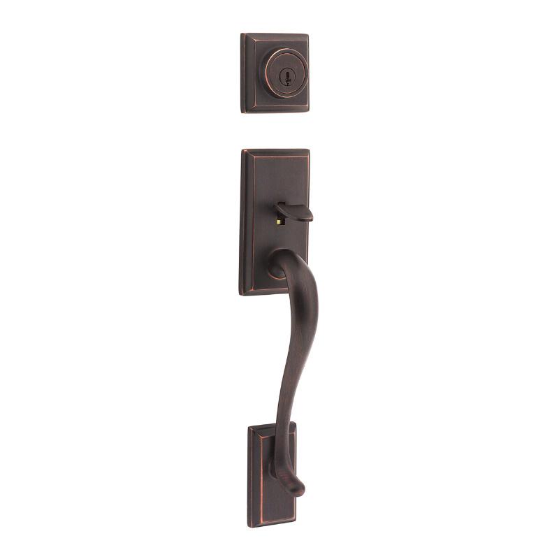 Hawthorne Handlesets, Venetian Bronze 801HE LIP 11P SMT | Kwikset Door  Hardware