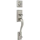 Handlesets, Front Door Handles with Deadbolts & Locksets | Kwikset ...